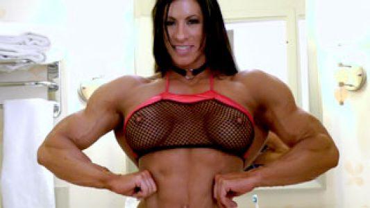 Angela Salvagno model profile pic.