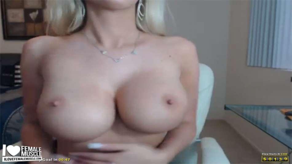 fake round boobs