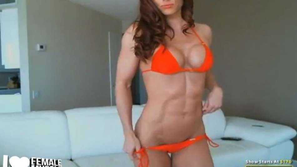 fitness model girl on cam