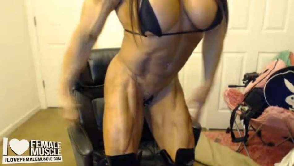 super muscular legs angela salvagno