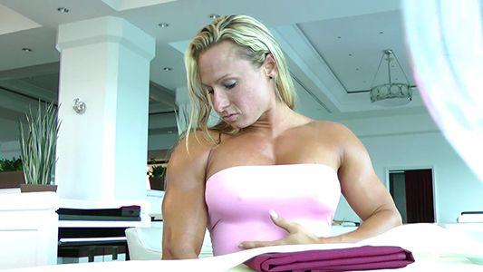Milinda Richardson buffed up female muscle