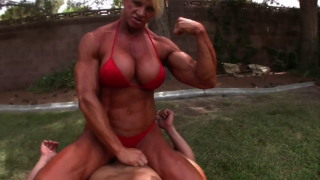 fbb Gabrielle Nicander on muscle girl flix