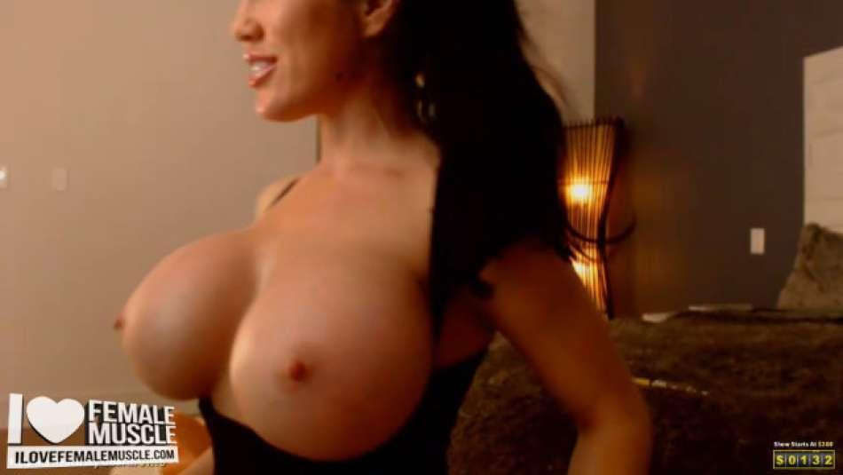 huge projection big fake boobs