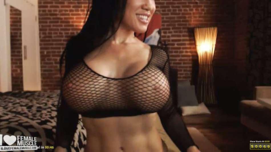 big fake tits on webcam