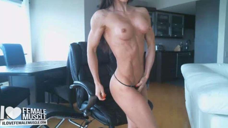 nice lean muscular woman