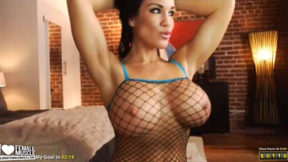 big tit fitness model on webcam