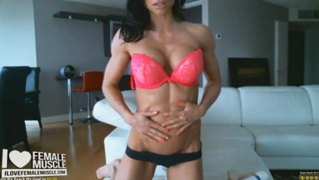 Hardbody Webcam Babe Muscle Girl