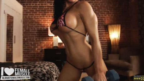 Fitness Model Webcam Girl Samantha Kelly