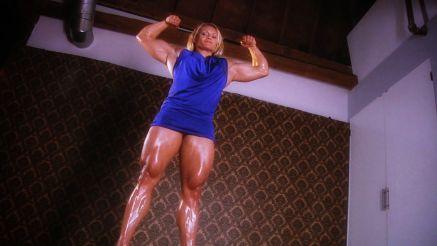 female bodybuilder ready for a date