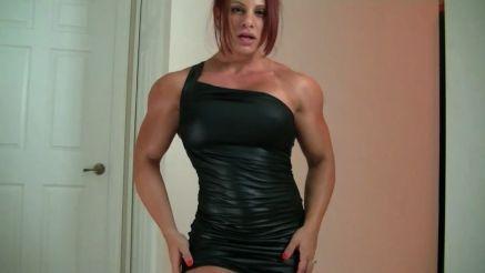 female bodybuilder dream date fantasy