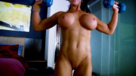 fit girl nude webcam workout big tits