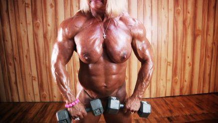 she hulk Maryse Manios nude workout