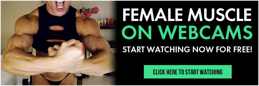 female muscle on webcams