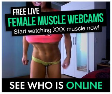 who is online female muscle cams
