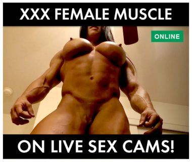 XXX female muscle sex cams banner